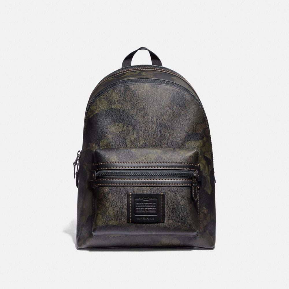 ACADEMY BACKPACK IN SIGNATURE CANVAS WITH WILD BEAST PRINT