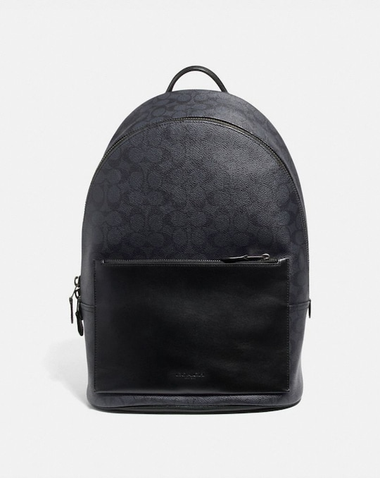 METROPOLITAN SOFT BACKPACK IN SIGNATURE CANVAS