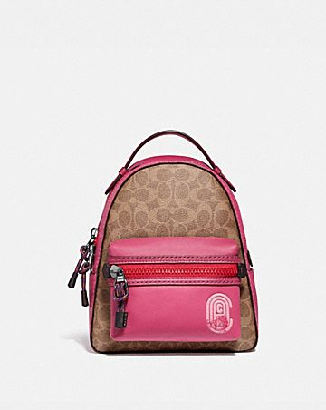 8da76fbb428cd CAMPUS BACKPACK 23 IN SIGNATURE CANVAS WITH COACH PATCH ...