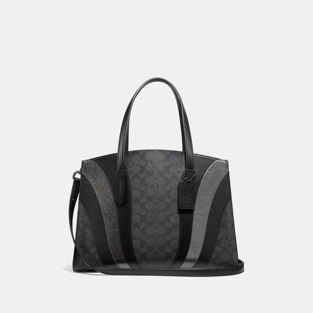 CHARLIE CARRYALL IN SIGNATURE CANVAS WITH WAVE PATCHWORK