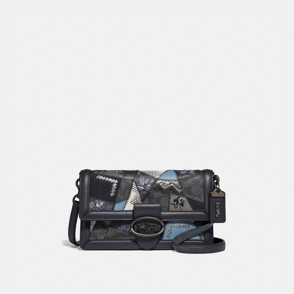 RILEY CROSSBODY WITH SIGNATURE PATCHWORK