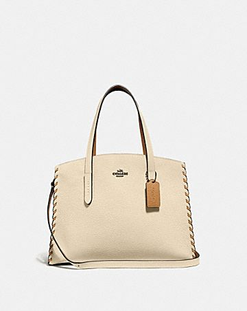 CHARLIE CARRYALL IN COLORBLOCK WITH WHIPSTITCH ...