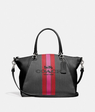 PRAIRIE SATCHEL WITH HORSE AND CARRIAGE