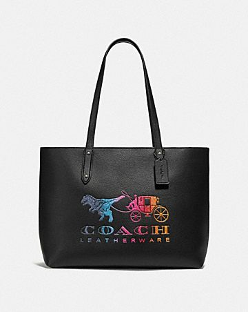 987a3eb321 Leather Tote Bags | COACH ®