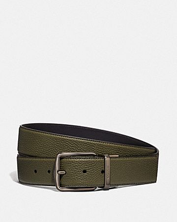 CUT-TO-SIZE REVERSIBLE BELT