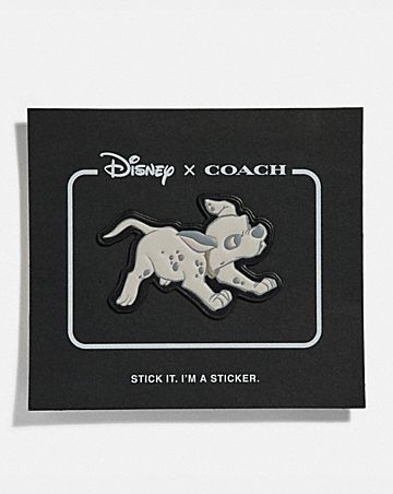 DISNEY X COACH DALMATIAN STICKER 037f748278dc