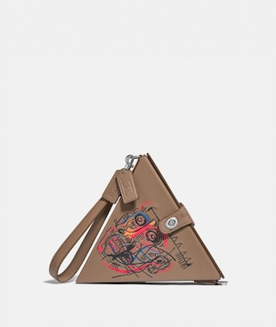 BOLSO TRIANGULAR 24 COACH X JEAN-MICHEL BASQUIAT