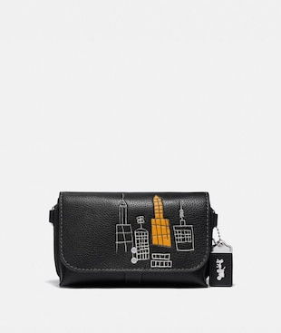 COACH X JEAN-MICHEL BASQUIAT ROGUE CROSSBODY 20