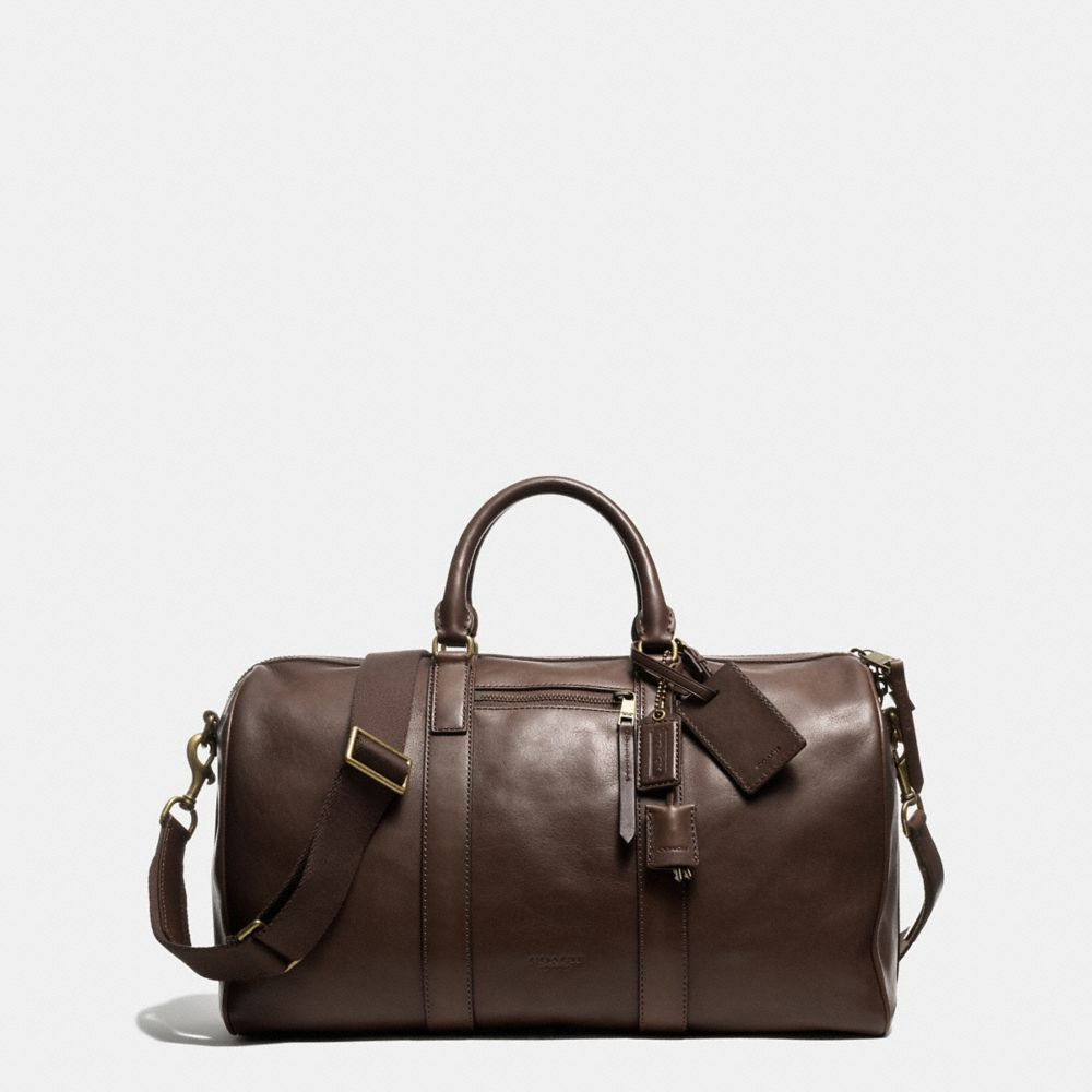 BLEECKER DUFFLE IN LEATHER