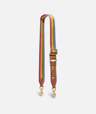 STRAP WITH RAINBOW STRIPE