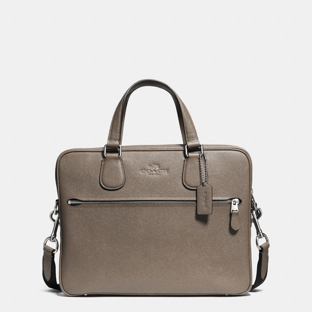 COACH HUDSON 5 BAG IN CROSSGRAIN LEATHER