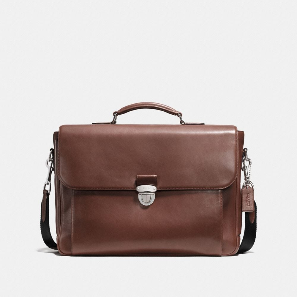 METROPOLITAN BRIEFCASE IN SPORT CALF LEATHER
