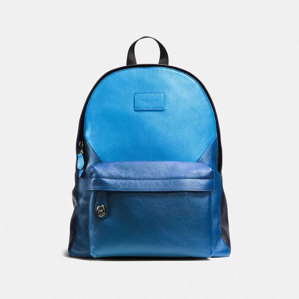 CAMPUS BACKPACK IN PATCHWORK PEBBLE LEATHER