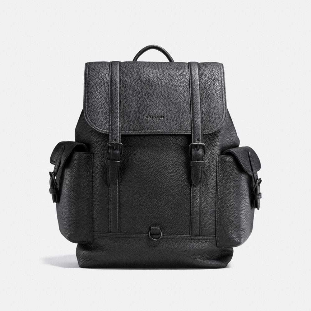 METROPOLITAN RUCKSACK IN PEBBLE LEATHER