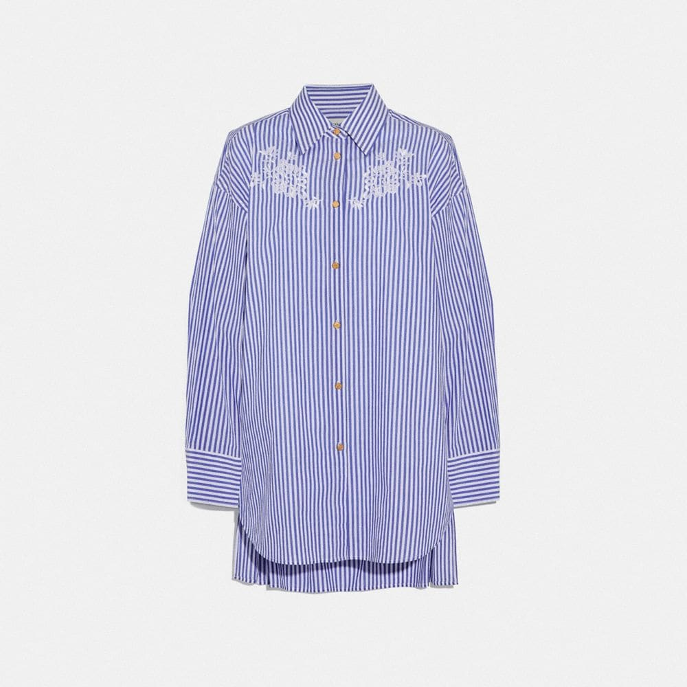 EMBROIDERED LONG SHIRT