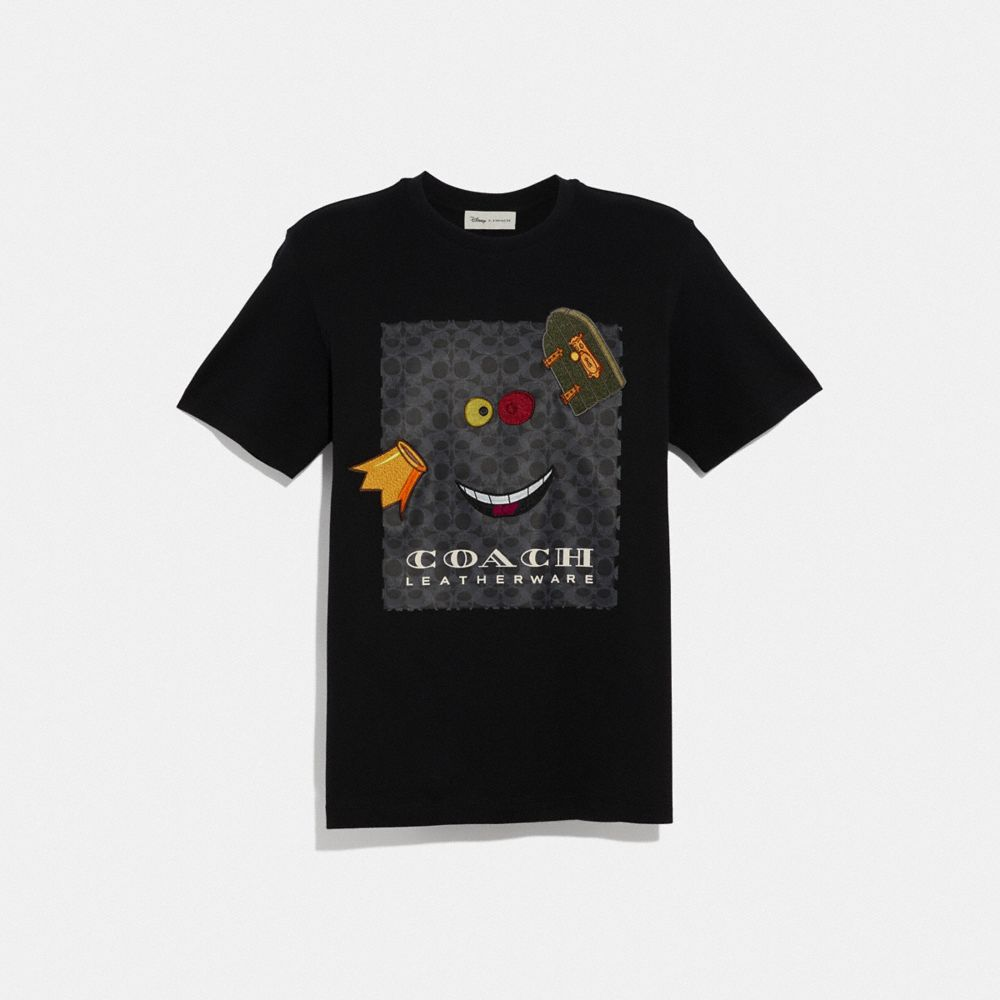 DISNEY X COACH ALICE PRINT T-SHIRT