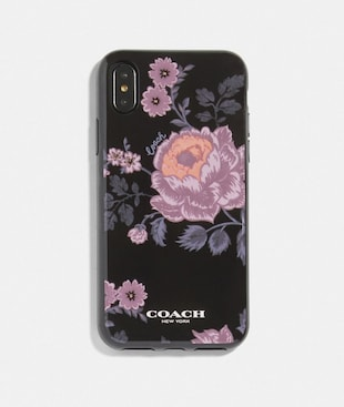 IPHONE X/XS CASE WITH FLORAL PRINT