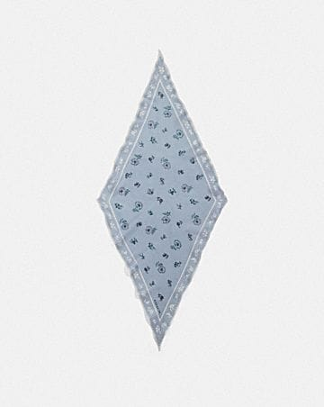 MEADOW PRAIRIE PRINT SILK DIAMOND