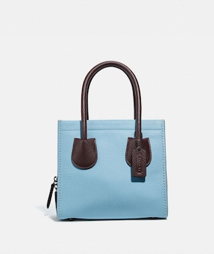 BOLSO TOTE CASHIN CARRY 22 CON BLOQUES DE COLOR