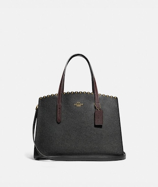 CHARLIE CARRYALL WITH SCALLOP RIVETS