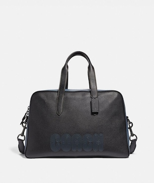 METROPOLITAN SOFT CARRYALL WITH COACH PATCH