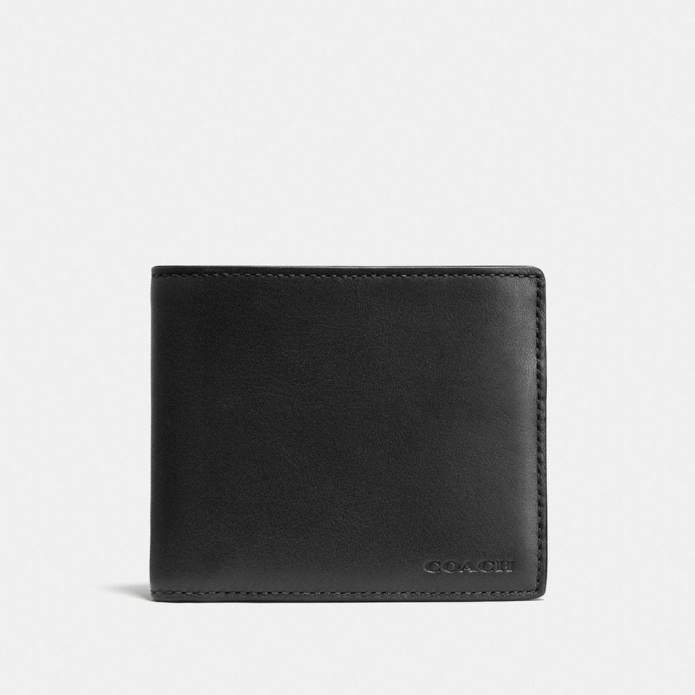 COMPACT ID WALLET IN SPORT CALF LEATHER