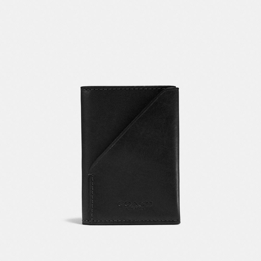 SLIM CARD WALLET IN SPORT CALF LEATHER