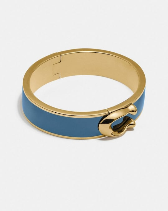 SIGNATURE LARGE HINGED BANGLE