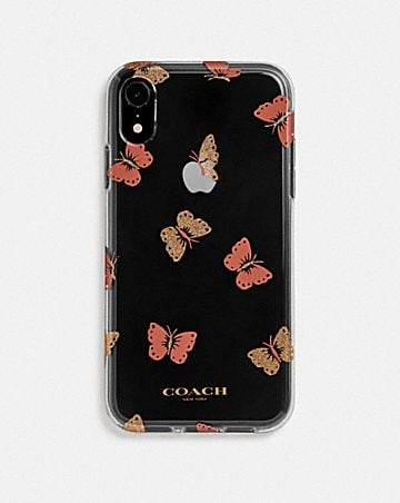 IPHONE XR CASE WITH BUTTERFLY PRINT