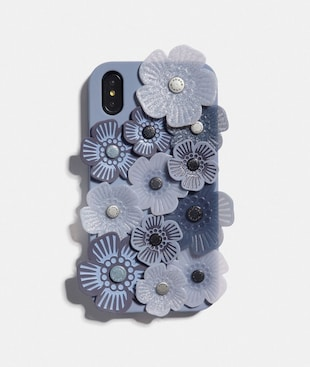 IPHONE XR CASE MIT TEEROSEN-APPLIKATION