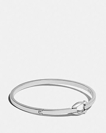 SIGNATURE HOOK BANGLE