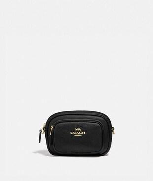 DOUBLE ZIP BELT BAG