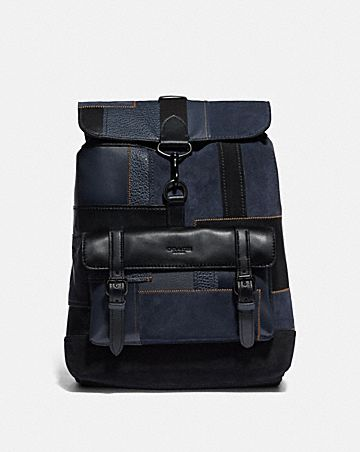 BLEECKER BACKPACK WITH PATCHWORK