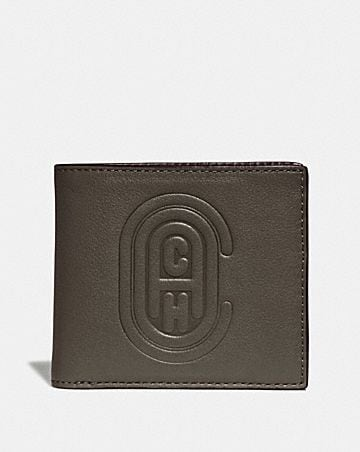 5bc56452da5f Men's Leather Wallets | COACH ®