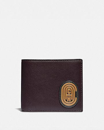 967c35ad34 Men's Leather Wallets | COACH ®