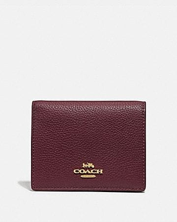 SMALL SNAP WALLET IN COLORBLOCK