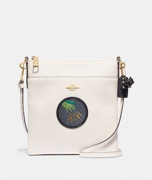 WIZARD OF OZ KITT MESSENGER CROSSBODY WITH MOTIF