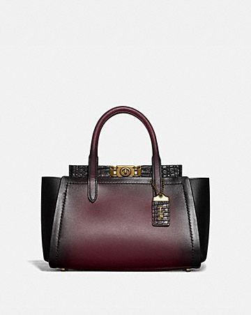 TROUPE CARRYALL WITH CROCODILE DETAIL