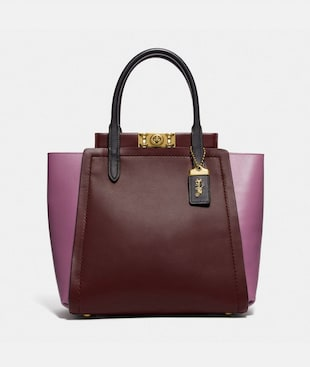 TROUPE TOTE IN COLORBLOCK