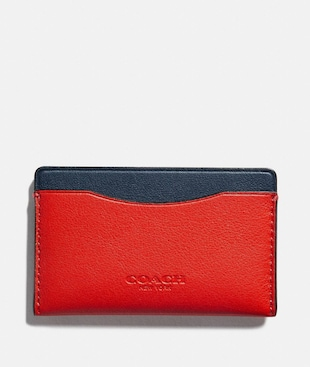 SMALL CARD CASE IN COLORBLOCK