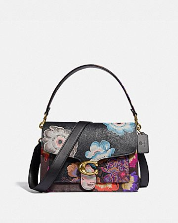 TABBY SHOULDER BAG WITH KAFFE FASSETT PRINT