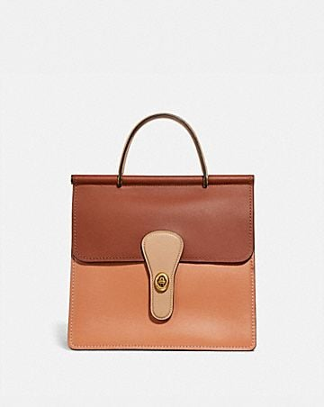 WILLIS TOP HANDLE IN COLORBLOCK