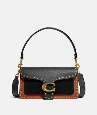 TABBY SHOULDER BAG 26 WITH RIVETS