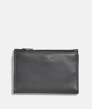 BIFOLD ZIP CARD CASE