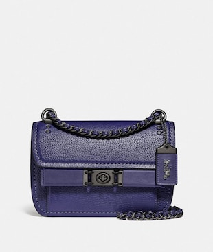 TROUPE CROSSBODY IN COLORBLOCK WITH SNAKESKIN DETAIL