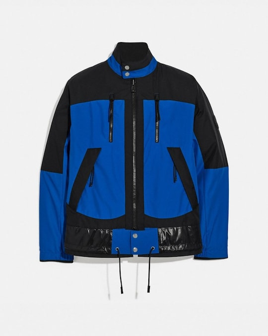 REVERSIBLE HARRINGTON JACKET