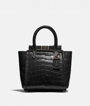 TROUPE TOTE 16 IN ALLIGATOR