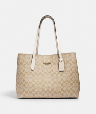 LARGE AVENUE CARRYALL IN SIGNATURE CANVAS