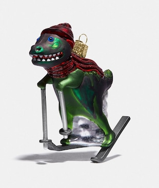 REXY GLASS ORNAMENT