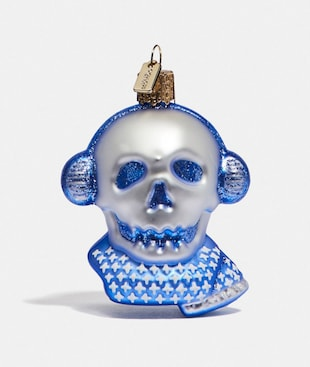 BONESY GLASS ORNAMENT